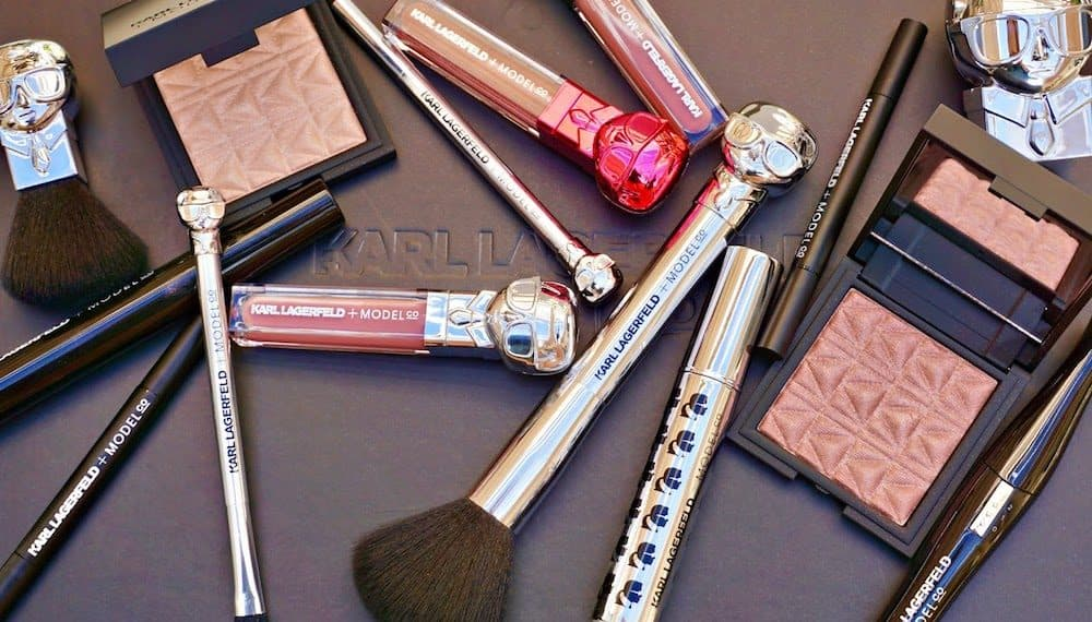 KARL LAGERFELD + MODELCO Makeup Collection Makes Grand Debut