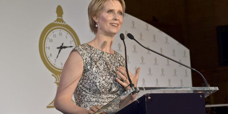 Cynthia Nixon Prioritizes Weed in NY Governor's Race