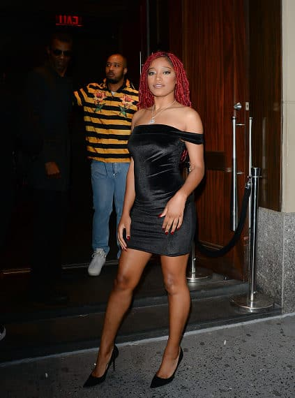 Keke Palmer Dazzles at NYC Listening Party