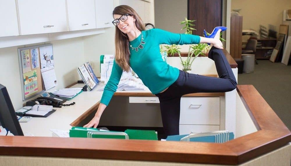 10 Sneaky Exercises You Can Rock from your Desk