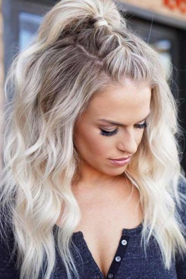 Gorgeous Half Up Half Down Hairstyles For Long And Medium Hair Nygal