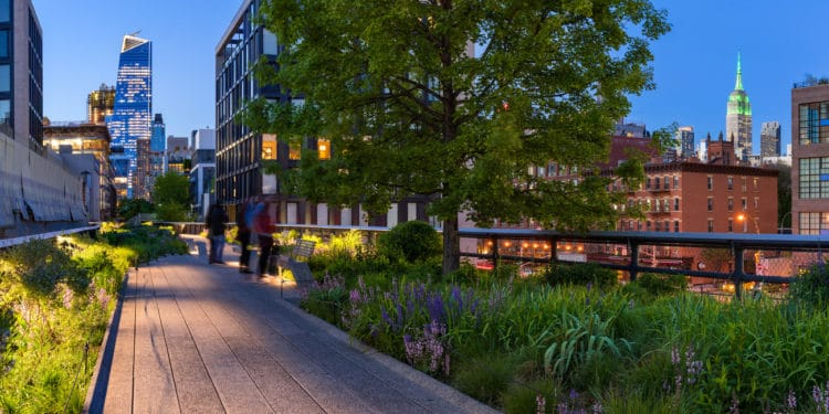 Reasons to love the high line in NYC.