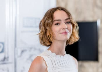 "NEW YORK, NY - AUGUST 14: Brigette Lundy-Paine discusses ""Atypical"" And ""The Glass Castle"" with the Build Series at Build Studio on August 14, 2017 in New York City. (Photo by Roy Rochlin/FilmMagic)"