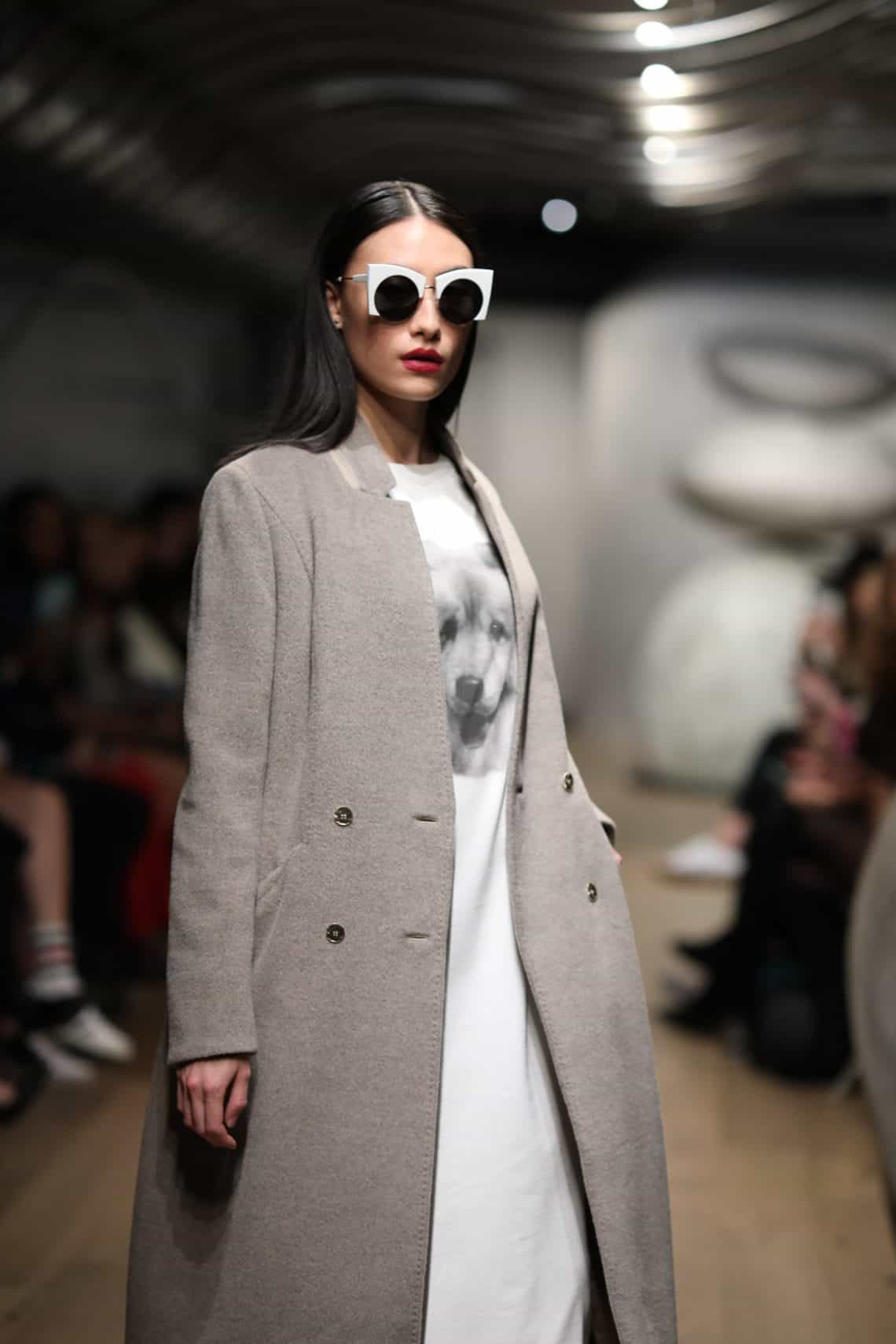 This gorgeous gray coat is on my winter wishlist.