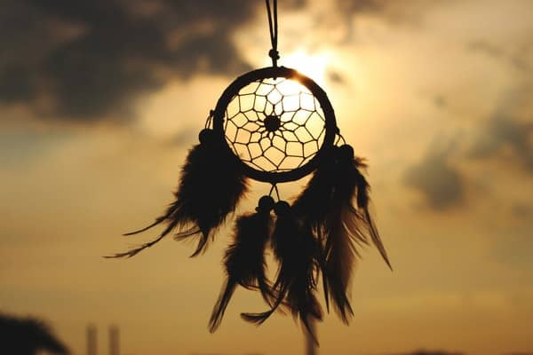 Dreamcatchers were a tool in Native American culture used to determine the symbolic meaning of dreams