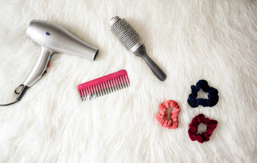 Get the necessary tools before you start dyeing your hair.