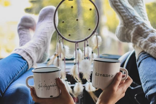friendship things to do coffee mugs dream catcher