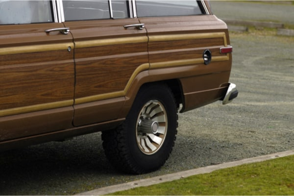 This is Us recap station wagon wooden