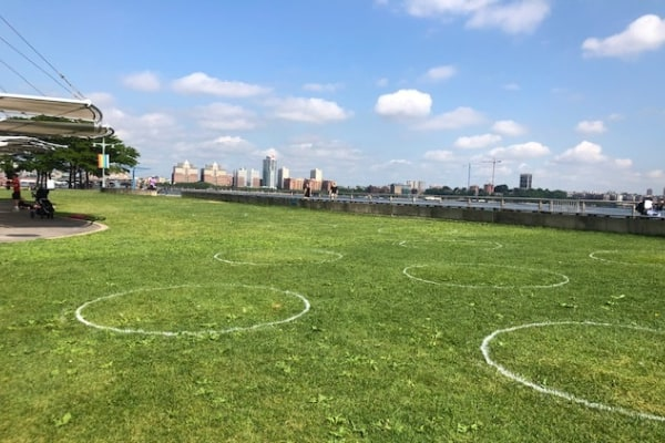 New York City Parks in Phase 4