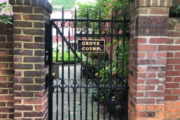 Grove Court in the West Village