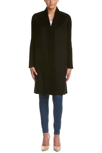 Forte Wool & Cashmere-Blend Coat