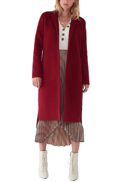 Sosken Wool Coat from Gilt