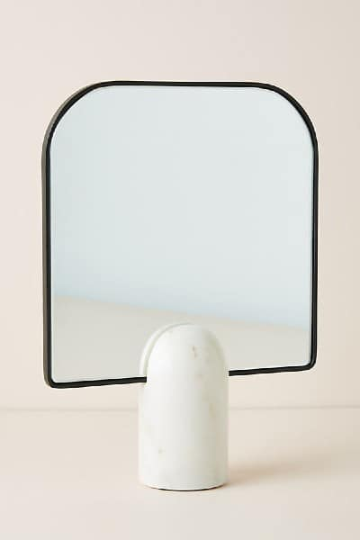 Anthropologie Pandora Tabletop Vanity Mirror