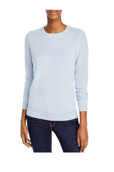C by Bloomingdale's Crewneck Cashmere Sweater