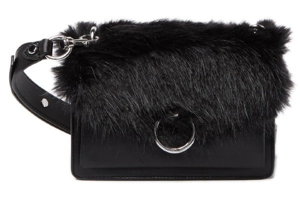 Rebecca Minkoff Faux Fur Jean Crossbody Bag