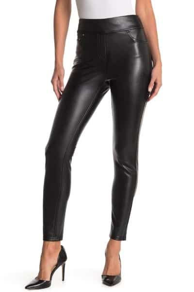 Laundry By Shelli Segal Faux Leather Pull-On Leggings