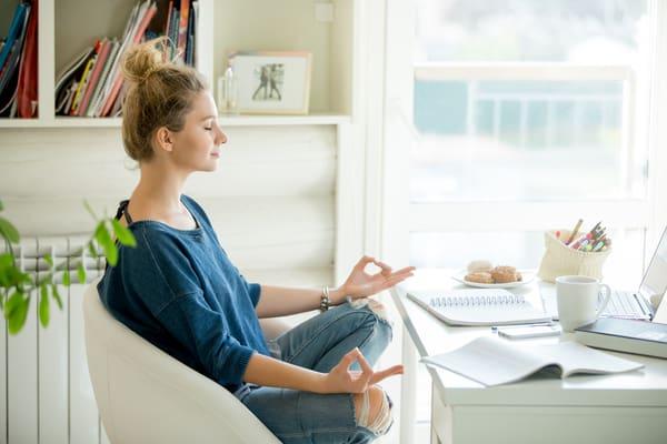 Meditation before calls