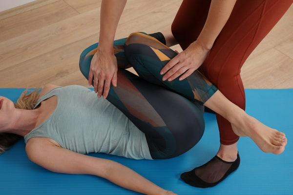 Pelvic tilts for lower back pain