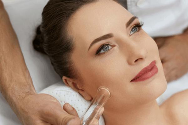 Prepping skin up before pore vacuum