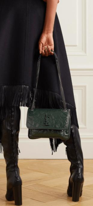 ysl bag mini leather tote