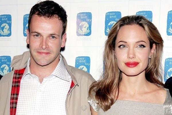 Angelina Jolie and husband Jonny Lee Miller