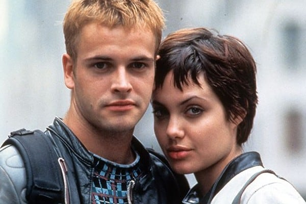 Angelina Jolie and Jonny Lee Miller met on the sets of Hacker
