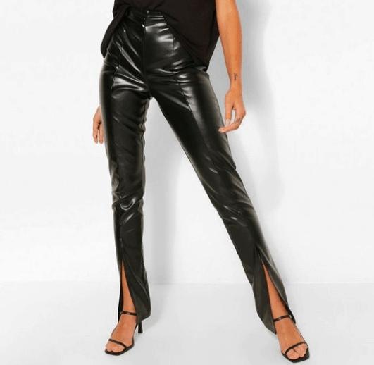 super stretch leather leggings